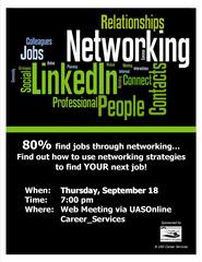 Networking Workshop Flyer Online