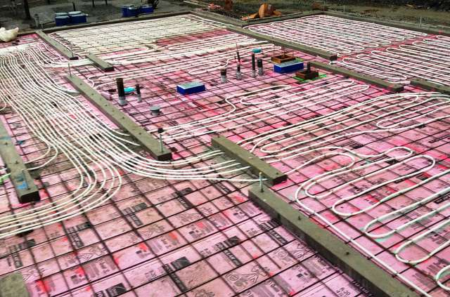 Raident Floor Heating -  White Pipe