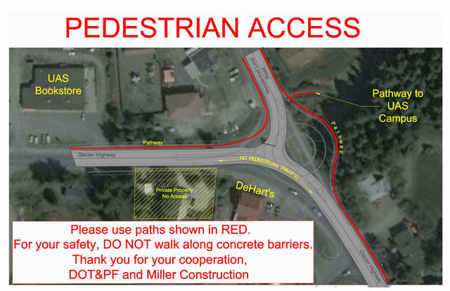 Pedestrian Access Winter 2013