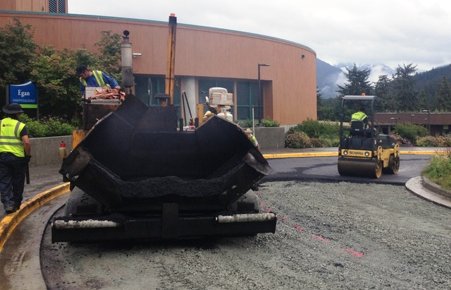 Paving at Egan