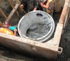 2013 10-4 Sewer Manhole