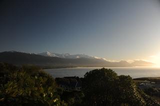 The Kaikoura mountain range
