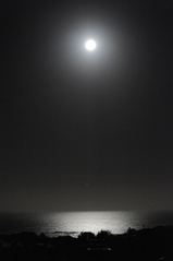 Moon over the South Pacific